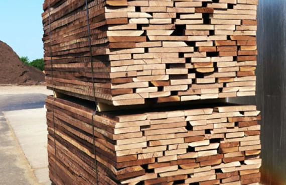 Dried lumber - Random Width