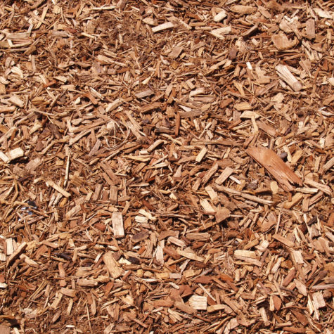 abstract of mulch
